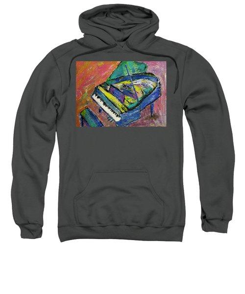 Piano Blue Sweatshirt