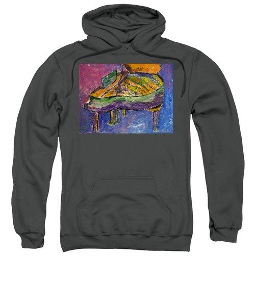 Piano Purple Sweatshirt