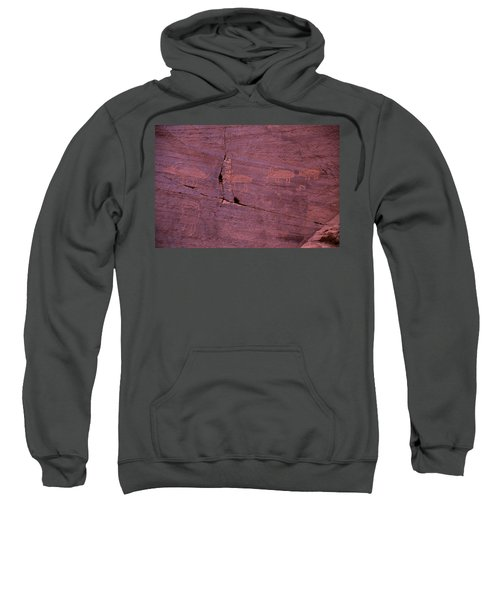Pictograph Cave Art Sweatshirt