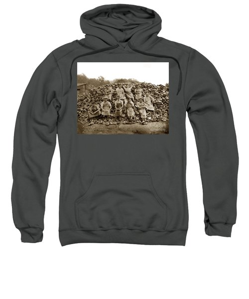 Pierce Brothers Abalone Morro Bay Circa 1925 Sweatshirt
