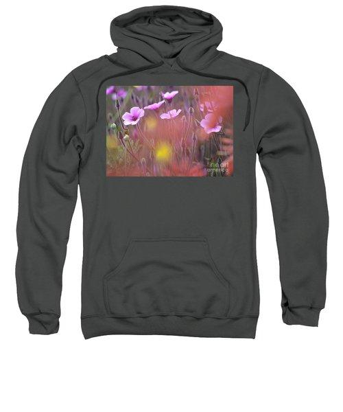 Pink Wild Geranium Sweatshirt