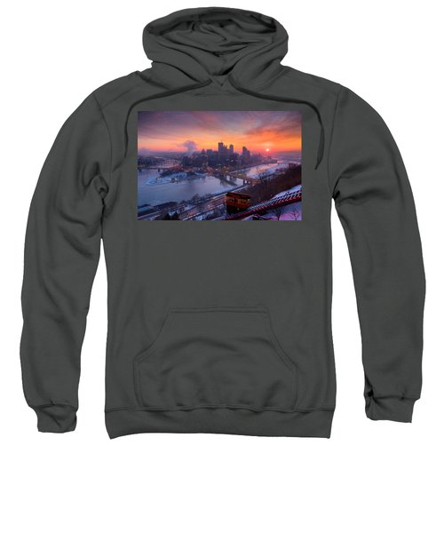 Pittsburgh Skyline Winter 2 Sweatshirt