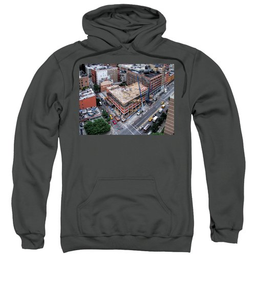 Placing Concrete Forms Sweatshirt