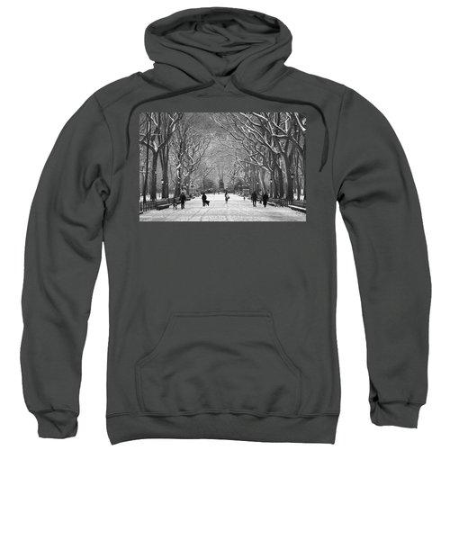 New York City - Poets Walk Winter Sweatshirt