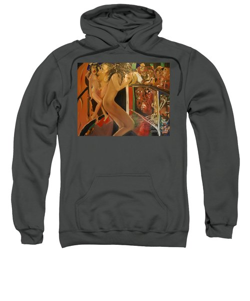 Pole Dancers And Their Admirers Sweatshirt