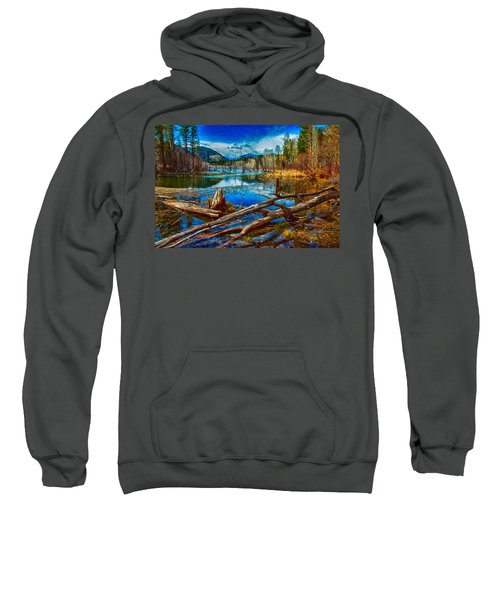 Pondering A Mountain Sweatshirt