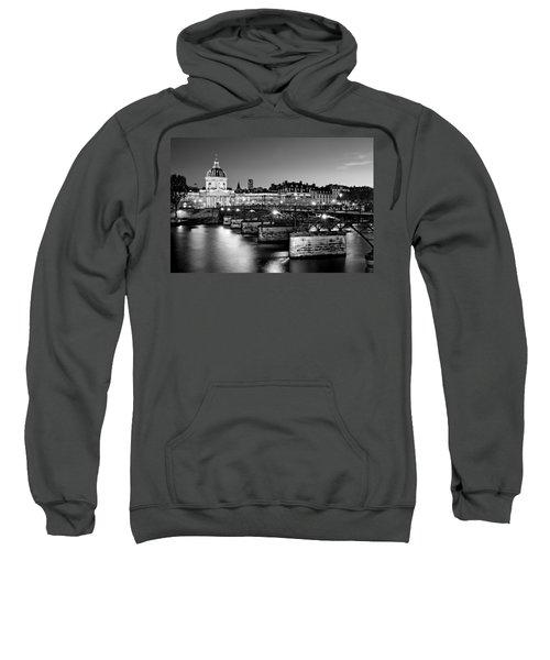 Pont Des Arts And Institut De France / Paris Sweatshirt