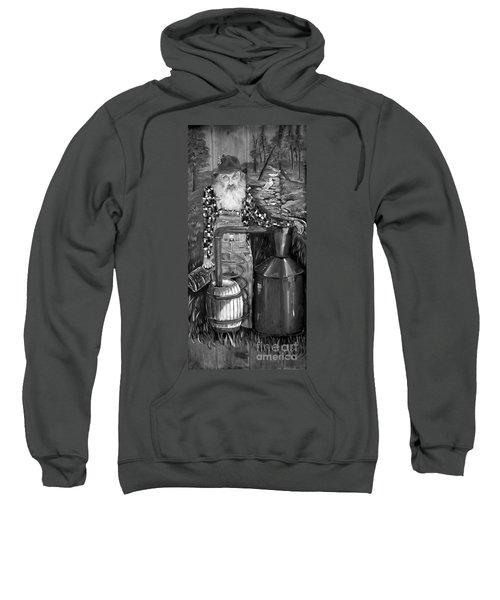 Popcorn Sutton - Black And White - Legendary Sweatshirt