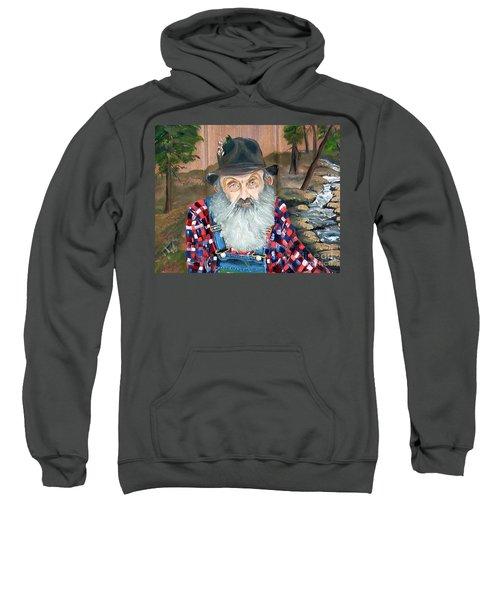 Popcorn Sutton - Moonshine Legend - Landscape View Sweatshirt