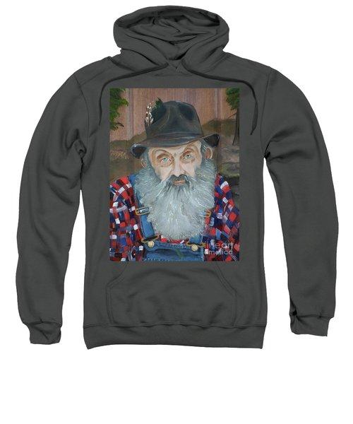 Popcorn Sutton - Moonshiner - Portrait Sweatshirt