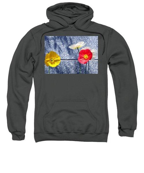 Poppies And Granite Sweatshirt