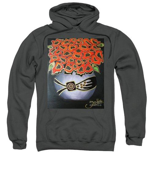 Poppies Revisited.. Sweatshirt