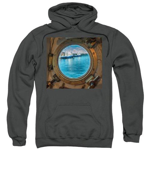 Hmcs Haida Porthole  Sweatshirt