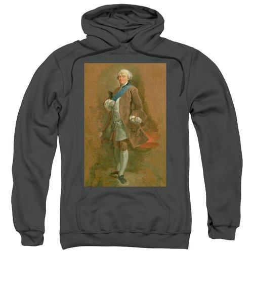 Portrait Of The Duc De Choiseul, C.1757 Sweatshirt