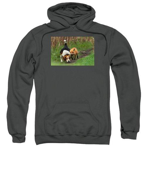 Probably The World's Worst Hunting Dog Sweatshirt