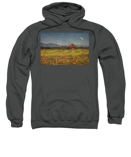 Pumpkin Field Moon Shack Sweatshirt