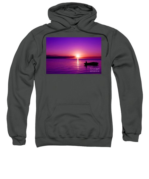 Purple Sunrise Sweatshirt