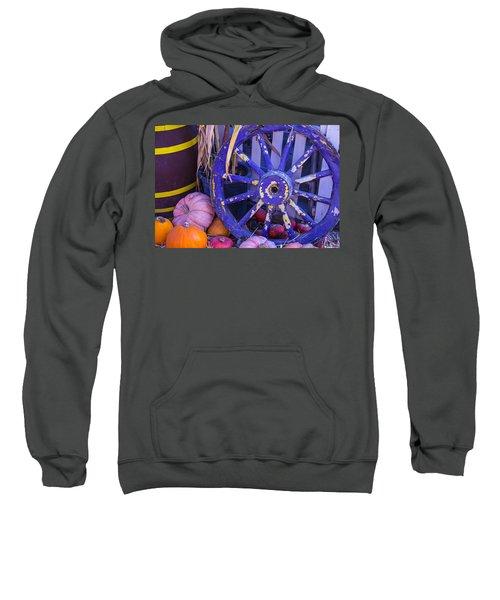 Purple Wagon Wheel Sweatshirt
