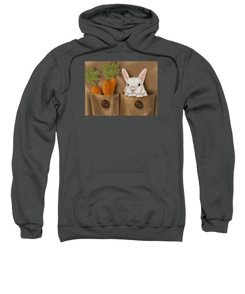Rabbit Hole Sweatshirt by Veronica Minozzi