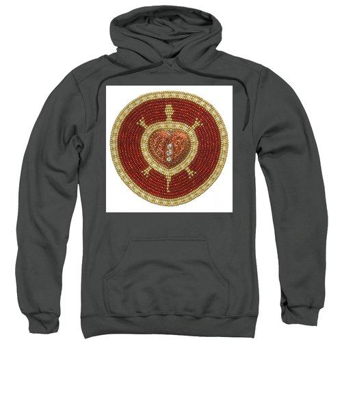 Red Heart Turtle Sweatshirt