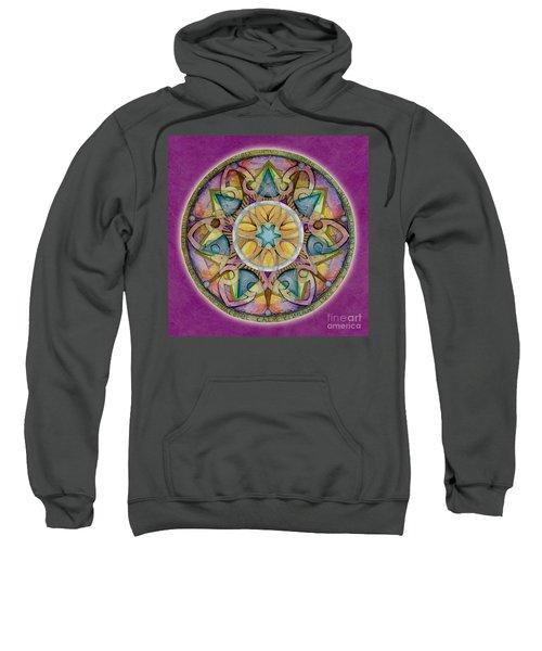 Radiant Health Mandala Sweatshirt