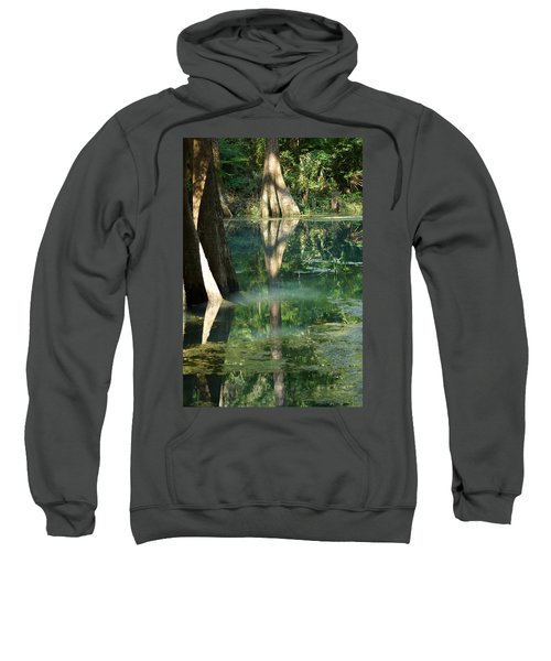 Sweatshirt featuring the photograph Radium Springs Creek In The Summertime by Kim Pate