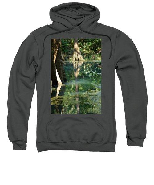 Radium Springs Creek In The Summertime Sweatshirt