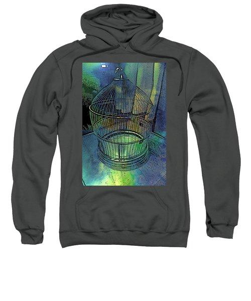 Rainbow Caged Sweatshirt