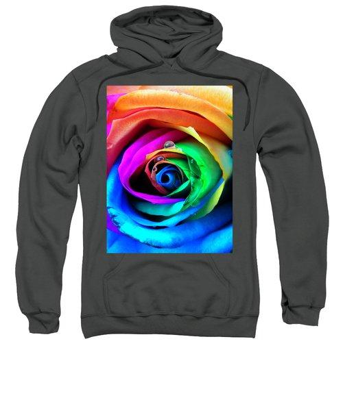 Rainbow Rose Sweatshirt
