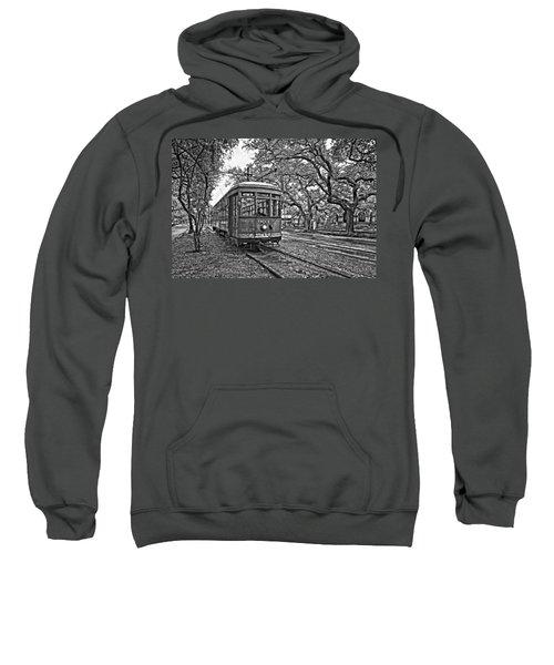 Rainy Day Ridin' Monochrome Sweatshirt