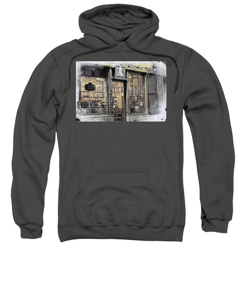 Rare Books Latin Quarter Paris France Sweatshirt