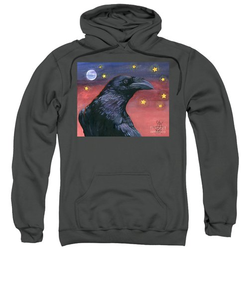 Raven Steals The Moon - Moon What Moon? Sweatshirt
