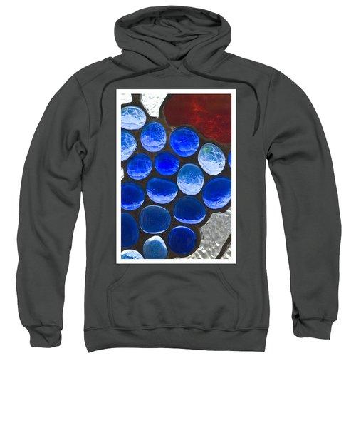 Red Blue Sweatshirt