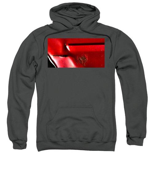 Red Gash Sweatshirt