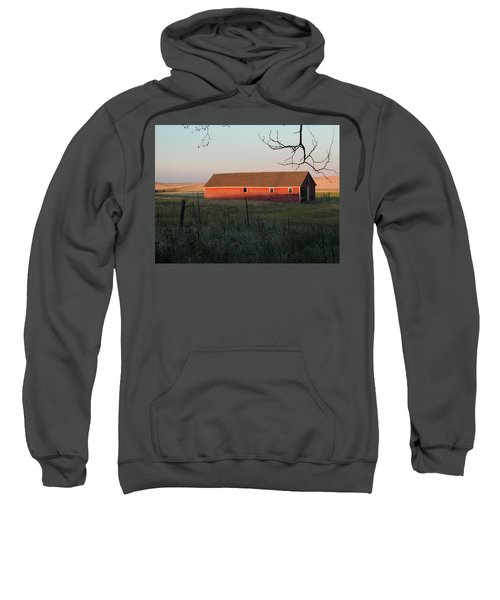 Red Granary Barn Sweatshirt