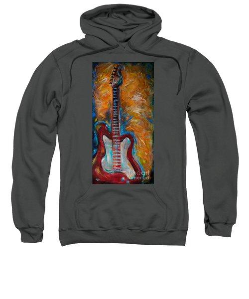 Red Guitar Sweatshirt