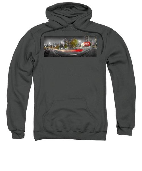 Red Lights Sydney Nights Sweatshirt by Az Jackson