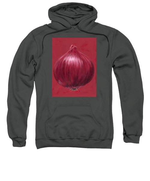 Red Onion Sweatshirt by Brian James