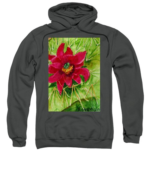 Red Prickly Pear Sweatshirt