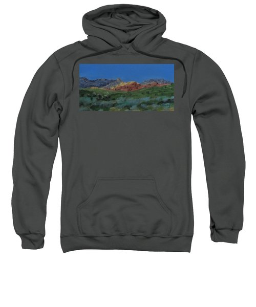 Red Rock Canyon Panorama Sweatshirt