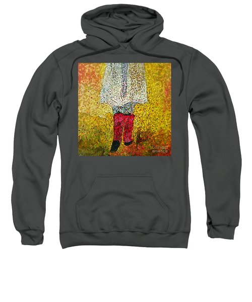 Red Rubber Boots Sweatshirt