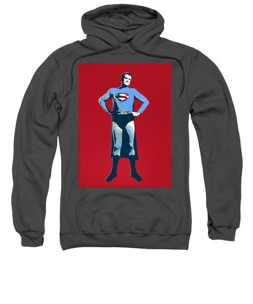 Red Superman Sweatshirt