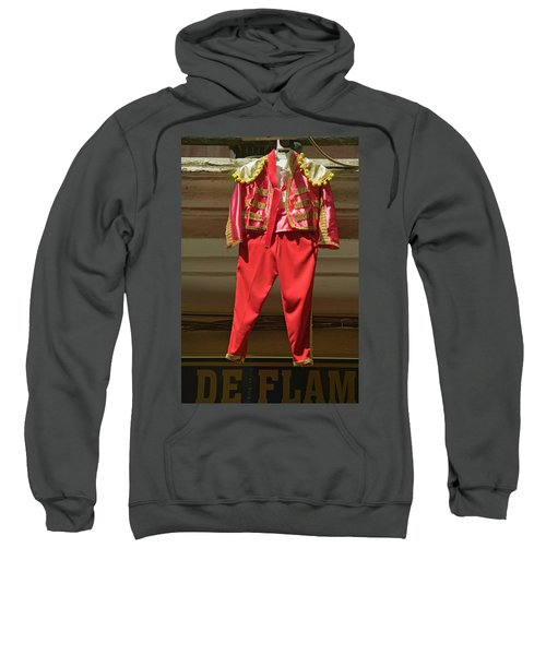 Red Toreador Bull Fighting Outfit Sweatshirt