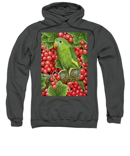 Redcurrant Parakeet Sweatshirt