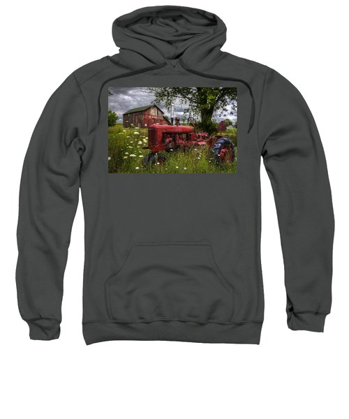 Reds In The Pasture Sweatshirt