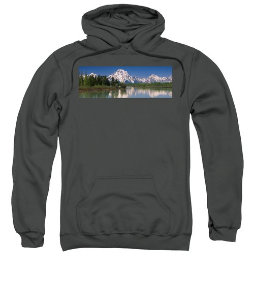 Reflection Of A Mountain Range Sweatshirt