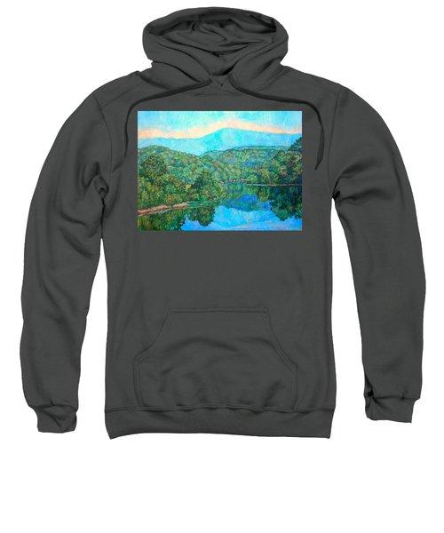 Reflections On The James River Sweatshirt