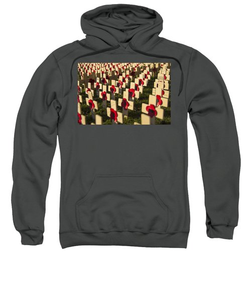 Sweatshirt featuring the photograph Rememberance by Ross G Strachan