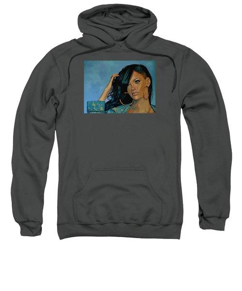 Rihanna Painting Sweatshirt