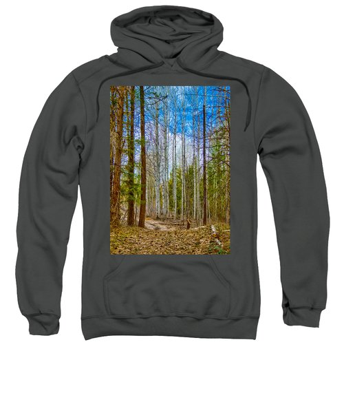 River Run Trail At Arrowleaf Sweatshirt